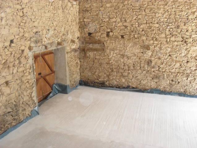 Concrete floor